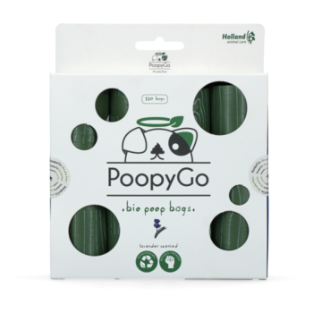PoopyGo koera hügieenikotid Eco Friendly lavendel 120tk(8x15kotti)