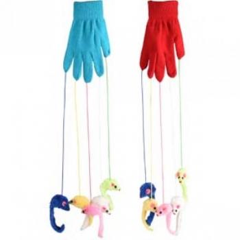 Kassi mänguasi CT Glove with mice Edward