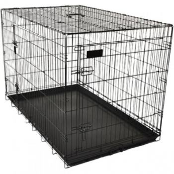 Koera puur Wire Cage Ebo black L 56x92x64cm