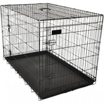 Koera puur Wire Cage Ebo black M 47x77x55cm