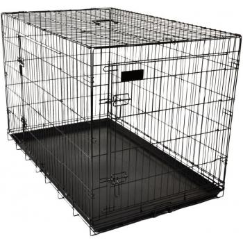 Koera puur Wire Cage Ebo black S 43x61x50cm