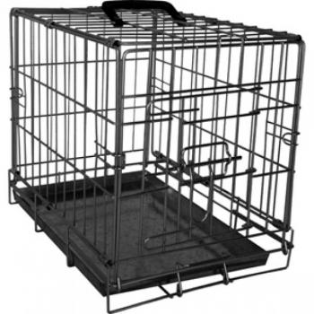 Koera puur Wire Cage Ebo black XS 31x47x38cm