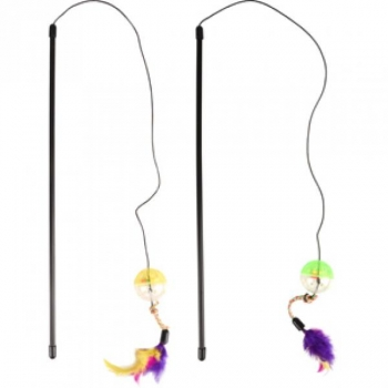 Kassi mänguasi Dangler Ball & Feathers 50cm