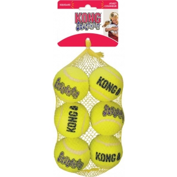 Kong koera mänguasi Squeak Air pallid Medium 6tk