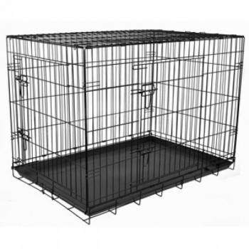 Wire Cage Keo black XXL 76x120x82cm