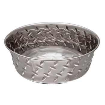 Diamond Plated Bowl L 3400 ml