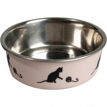 Sööginõu kassile BELLA KENA punane 160ml 11cm