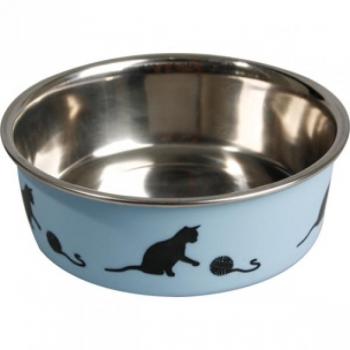 Sööginõu kassile BELLA KENA sinine 160ml 11,5cm