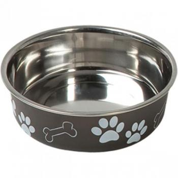 Sööginõu koerale BELLA KENA must 17cm 800ml