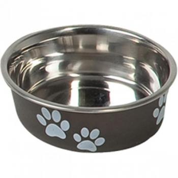 Sööginõu koerale BELLA KENA must 12cm 300ml