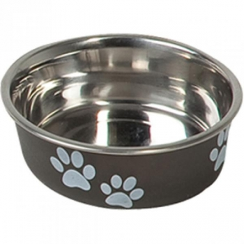 Sööginõu koerale BELLA KENA must 14cm 450ml