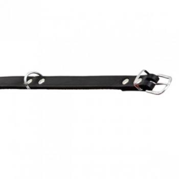 Kaelarihm koerale RONDO must 37cm/12mm