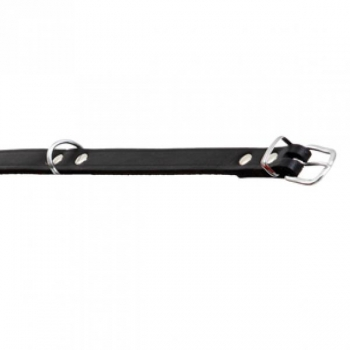 Kaelarihm koerale RONDO must 42cm/16mm