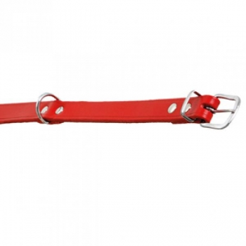 Kaelarihm koerale RONDO punane 27cm/10mm
