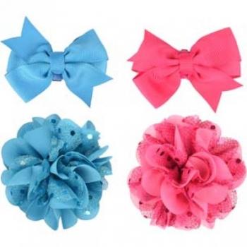 Aksessuaarid koerale ARCUM lips+lill valik sinine/roosa