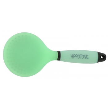"HIPPOTONIC ""Gel"" mane brush - Color : neon green, Size : L 23 x W 10 cm"