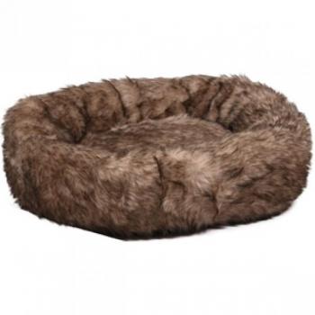 Koera ümmargune pesa CORNO pruun 70x15cm