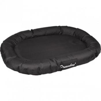 Koera ovaalne voodi DREAMBAY must 140x105x17cm