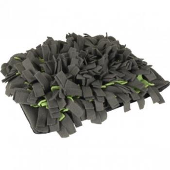 Nuuskimismatt AMIGO ristküliku kujuline+lukk hall/roheline 30x40cm