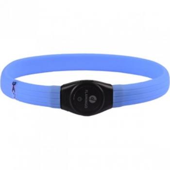 Koera LED kaelarihm VISIO LIGHT JUMBO sinine 35/64cm 7mm