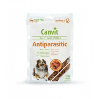 CANVIT ANTIPARASITIC HEALTH CARE SNACKS 200G