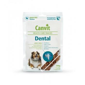 CANVIT DENTAL HEALTH CARE SNACKS 200G