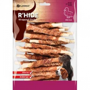 R'HIDE DUCK Närimispulk pardilihaga 7/8MM 12CM 30PCS 350GR