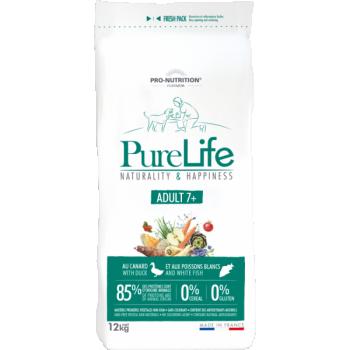 PureLife Adult 7+ Pardiliha ja Valge Kalaga 2kg