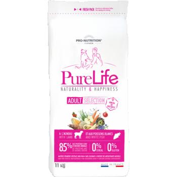 PureLife Adult Selection Lambaliha ja Valge Kalaga 2kg