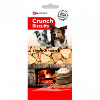 BISCUITS CRUNCH SANDW. HEARTS 500GR