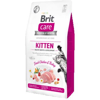BC Cat GF Kitten Healthy Growth Kassipoja kuivtoit 7kg