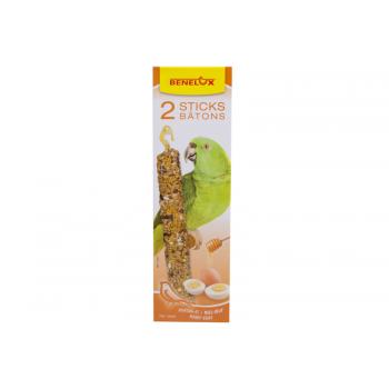 Papagoide maiusepulgad muna ja meega 2x75g