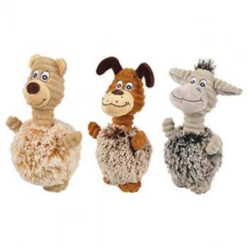 Koera mänguasi KARU/EESEL/KOER 22CM valik