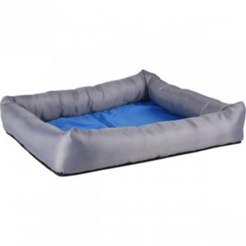 Koerte jahutav pesa FRESK ristkülik sinine/hall S 50x40x8,5cm