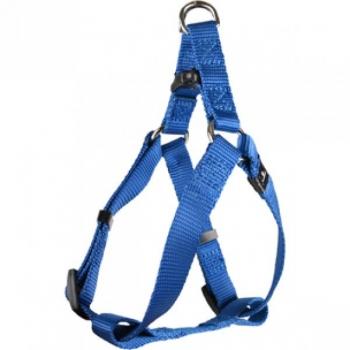 HARNESS STEP&GO ZIGGI BLUE 35-60CM 20MM