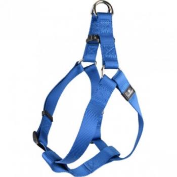 HARNESS STEP&GO ZIGGI BLUE 40-70CM 25MM