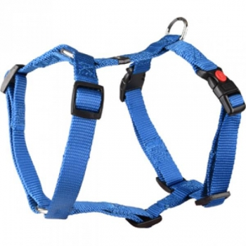 H-HARNESS ZIGGI BLUE 60-85CM25MM