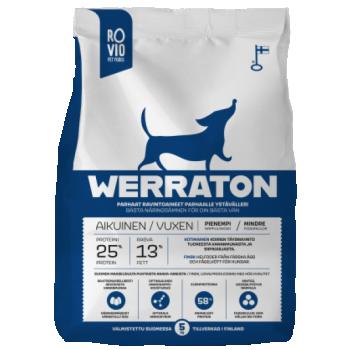 Werraton kuivtoit täiskasvanud koerale 2 kg