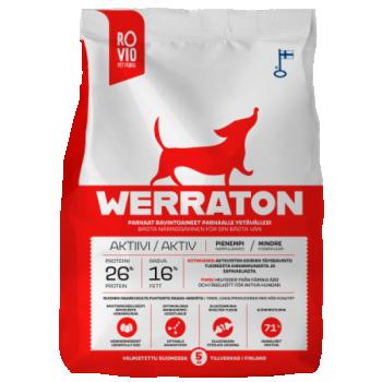 Werraton kuivtoit aktiivsele koerale 12kg