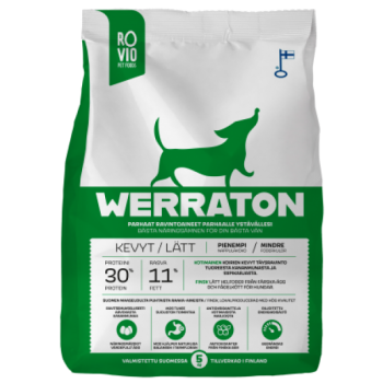 Werraton kuivtoit vähe aktiivsele koerale 5 kg