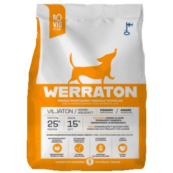 Werraton teraviljavaba kuivtoit täiskasvanud koerale 2 kg