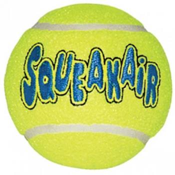 Kong koera mänguasi Air Squeaker tennisepall M 6cm 3tk