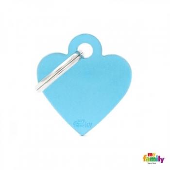 My Family ripats Basic süda väike helesinine /MFB70/