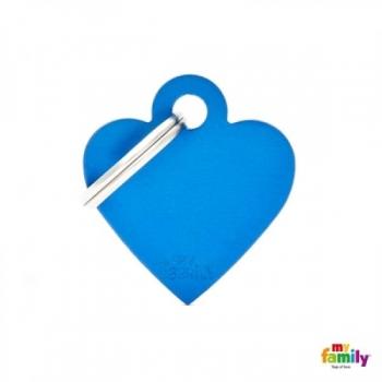 My Family ripats Basic süda väike sinine /MFB23/