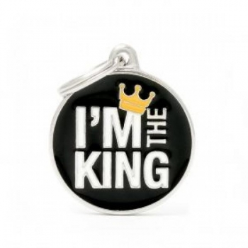 MY FAMILY CHARMS RIPATS KUNINGAS OLEN /CH17KING/