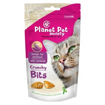 PPS maius kassidele Crunchy Bits Sterilized- steriliseeritud kassidele 40g
