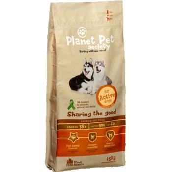 PPS kuivtoit koertele ACTIVE kanaga 15kg