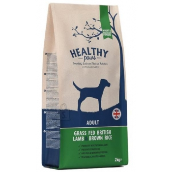 "Healthy Paws ""Briti lambaliha ja pruuni riisiga"" 12kg"