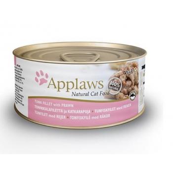 Applaws kassi konserv tuunikala/krevett 70g N1