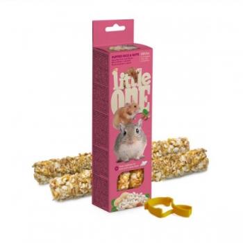 """Little One maiusepulgad hamstritele, hiirtele ja liivahiirtele """" Puffed rice and nuts"""""""